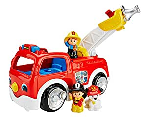 Fisher Price Fisher Price Little People Lift N Lower Fire Truck
