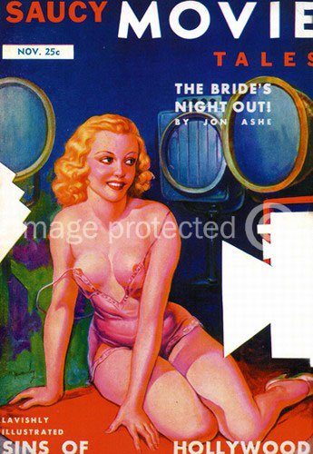 Brides Night Out Saucy Movie Tales Vintage Sexy Poster