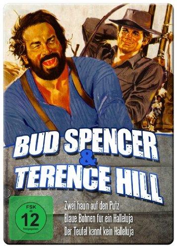Bud Spencer & Terence Hill Edition - Vol. 3 (Zwei hau'n auf den Putz/Blaue Bohnen für ein Halleluja/Der Teufel kennt kein Halleluja) (Iron Edition)