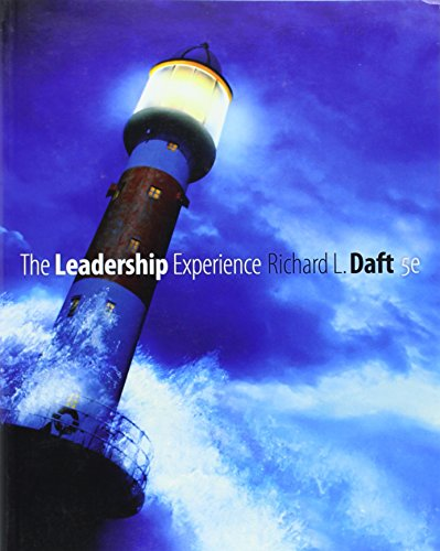 The Leadership Experience (Available Titles CengageNOW)