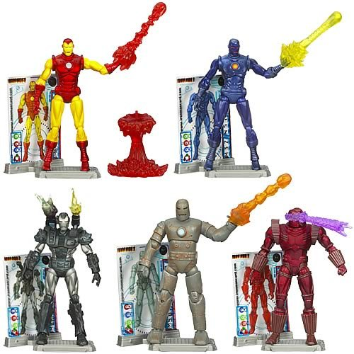 Iron Man 2 Comic Action Figures Wave 1 Revision 1