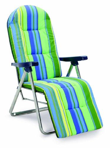 Best - 33300085 - Nizza, Sedia a sdraio, con struttura in alluminio, colore: Verde
