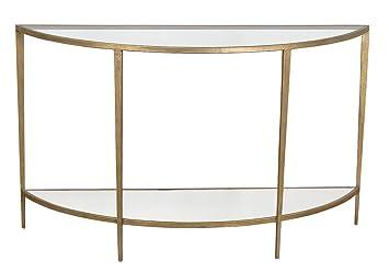 Gin Shu Parisienne Metal Semi-circular Table