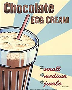 Double Chocolate Bourbon Egg Cream Recipe — Dishmaps