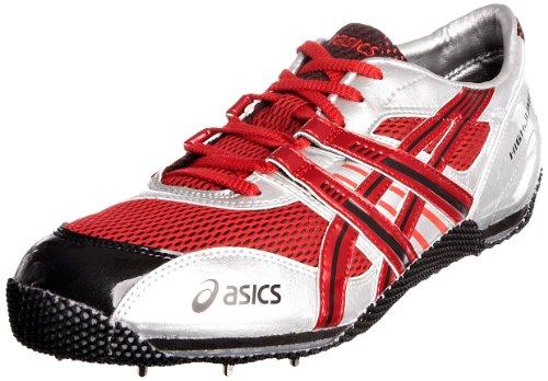 Asics Unisex Cyber High Jump Beijing Running Spike Fire Red/Black/Lightning GN8062690 8.5 UK