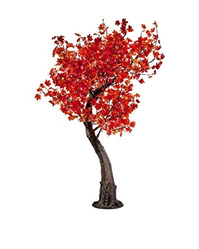 LED Red Maple Tree, Warm White Bulbs