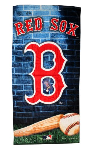"KAUFMAN - BOSTON RED SOX Beach Towels, (15521) 30"" x 60"" at Amazon.com"