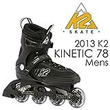 K2(ケーツー) インライン 2013 KINETIC 78 男性用 メンズ インラインスケート INLINE SKATE 27cm