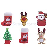 Generic 16GB : Santa Claus : 4-32GB MERRY CHRISTMAS USB 2. 0 Flash Memory Stick Pen Drive Storage Thumb U Disk