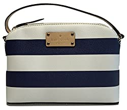 Kate Spade New York Wellesley Printed Hanna WKRU3843 Navy/Cream Stripes