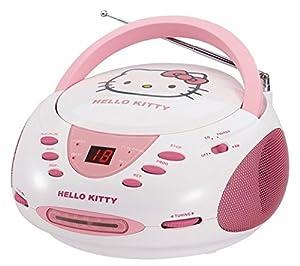 HELLO KITTY KT2024A Stereo AM/FM/CD Boom Box