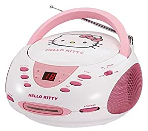 Hello Kitty CD Boombox with AM/FM Stereo Radio (discontinued by manufacturer)