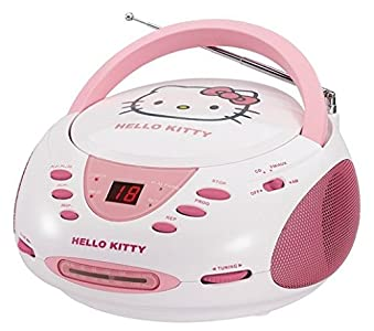 Review and Buying Guide of Buying Guide of Hello Kitty CD Boombox with AM/FM Stereo Radio (discontinued by manufacturer)