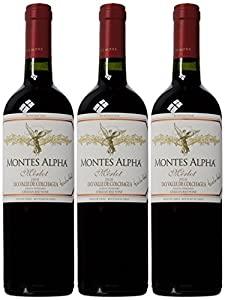 Montes Alpha Colchagua Merlot 2010 Wine 75 cl (Case of 3)