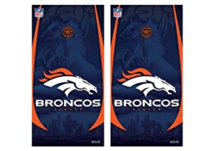 NFL Denver Broncos Cornhole Shield by Wild Sports
