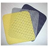Non-slip Dash Grip Pad Mat Two Pads Are One Set BLACK Color