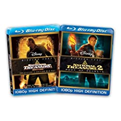 National Treasure /  National Treasure 2 – Book of Secrets [Blu-ray] (Amazon.com Exclusive)