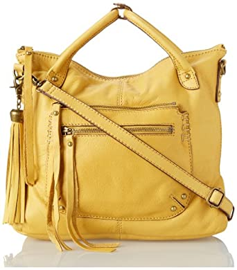 Lucky Brand Delrey Mini Travel Tote,Golden,One Size