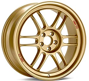 17x8 Enkei RPF1 (Gold) Wheels/Rims 5x114.3 (3797806545GG)