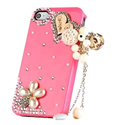 Diamond Charms Back Case for iPhone 4/4S