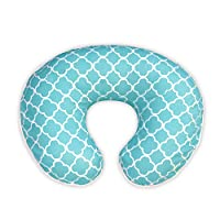 Boppy Pillow Slipcover, Classic Plus Trellis Turquoise/Blue by Boppy