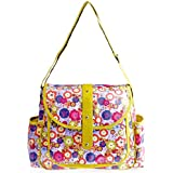 Bellotte Fashion Tote Diaper Bag, Flowers