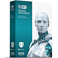 ESET NOD32 Antivirus 2015 for 3 PCs