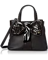 Betsey Johnson Bow Tie Shopper BJ44305 Top Handle Bag