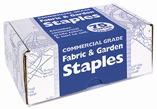 Easy Gardener 815 75-Count Fabric and Garden Staples (Commercial Landscape Fabric compare prices)