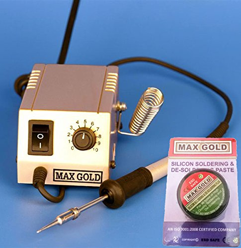 buyyart new original max gold 550 commercial micro soldering iron station with 1 extra max gold. Black Bedroom Furniture Sets. Home Design Ideas