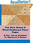 Use Now Stone & Wood Dollhouse Floor...