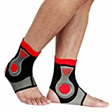 CFR Ankle Support Breathable Ankle Brace for Pain Relief, Sprains, Strains, Arthritis, Torn Tendons One Pair,L UPS Post