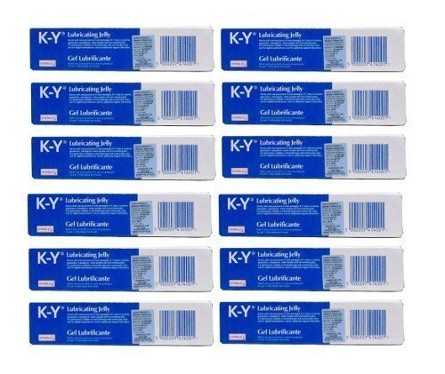 TWELVE PACK of K-Y Gel Lubricating Sterile Jelly 82g by K-Y (K Y Lubricating Jelly compare prices)