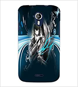 PrintDhaba Abstract Image D-4983 Back Case Cover for MICROMAX A116 CANVAS HD (Multi-Coloured)