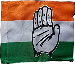 congress party roto Flag pack of 10