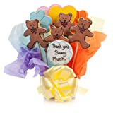 Thank You Beary Much Cookie Bouquet- 9 Pc Bouquet