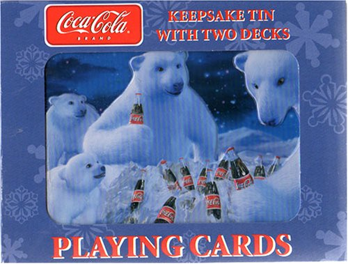 Buy Coca-Cola – 2 Decks of Coke Playing Cards in Tin – New
