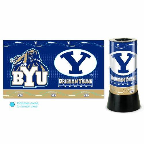 NCAA Brigham Young Cougars Rotating Lamp