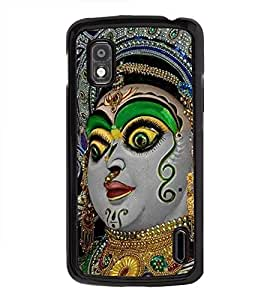 Vizagbeats Kali Matha Back Case Cover for GOOGLE NEXUS 4