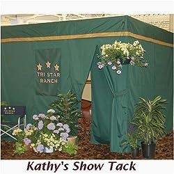 Horse Stall Drape Front Show Curtain Pakage, Royal Blue