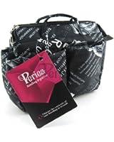Periea Organiseur de sac à main (GRAND modèle) 13 Compartiments+ mousqueton GRATUIT, Noir - Marina