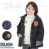 (ディラッシュ) DILASHデニム中綿入りロングジャケット/冬 アウター 防寒 100 デニム