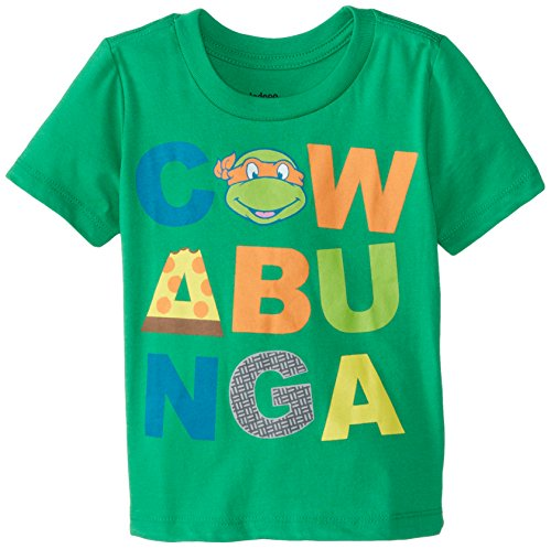 Teenage Mutant Ninja Turtles Little Boys' TMNT Cowanbunga Toddler Boys Tee