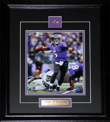 Joe Flacco Baltimore Ravens 8x10 frame