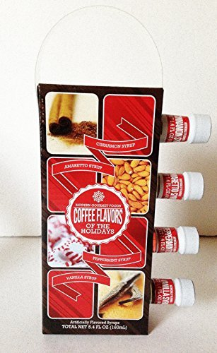 Modern Gourmet Foods Holiday Coffee Syrups Cinnamon ...