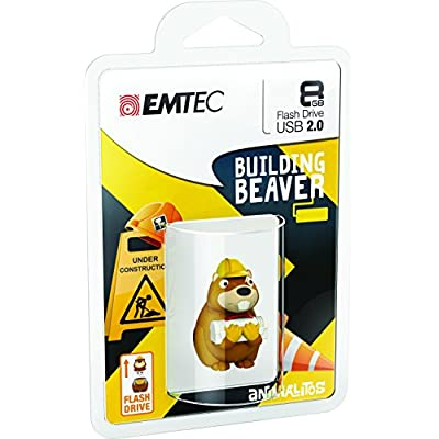 Emtec Animalitos 2.0 USB Flash Drive (ECMMD8GM338)