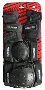 Bullet Junior Knee/Elbow/Wrist Protection Pad Set - Black