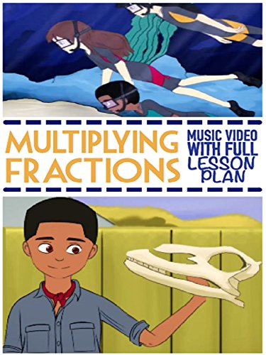 Multiplying Fractions Song For Kids: Educational Math Rap Music Video