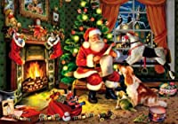 Who's Next on the List 250 Piece Wooden Jigsaw Puzzle from Wentworth Wooden Jigsaw Puzzle Company Limited