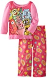 Komar Kids Girls 2-6X Yo Gabba 2 Piece Pajama Set